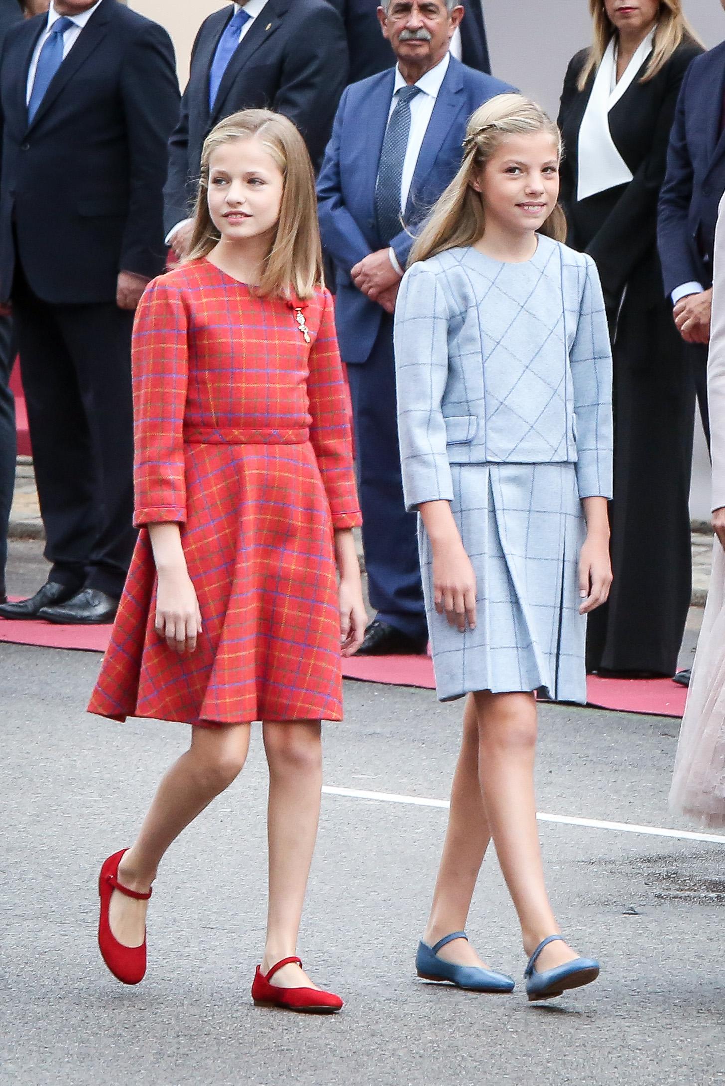 Princesa Leonor y Sofía