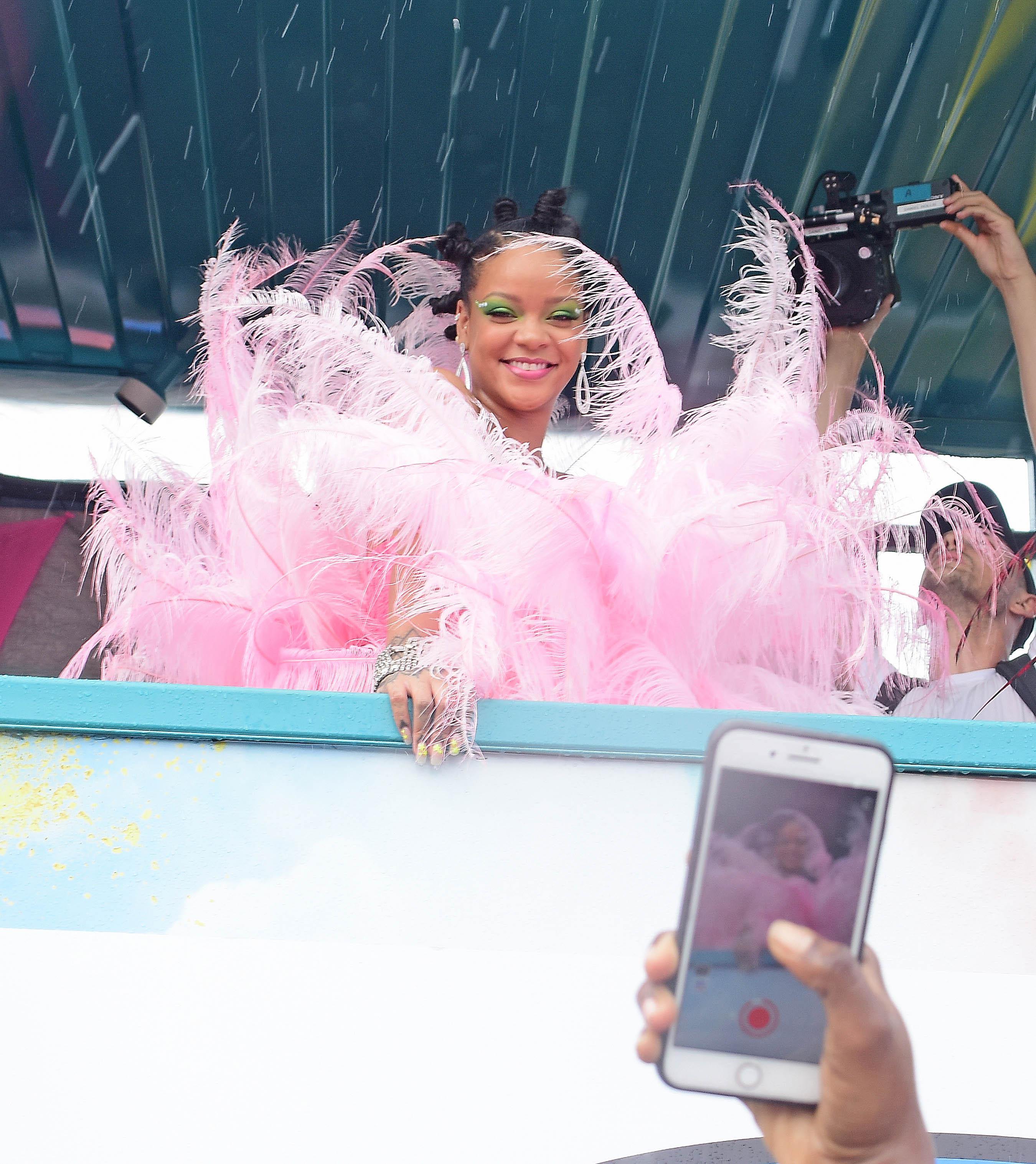 Rihanna carnaval barbados