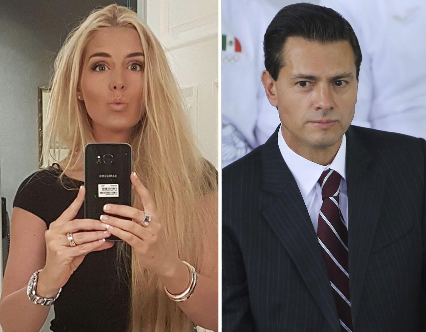 Tania Ruiz Eichelmann Enrique Peña Nieto
