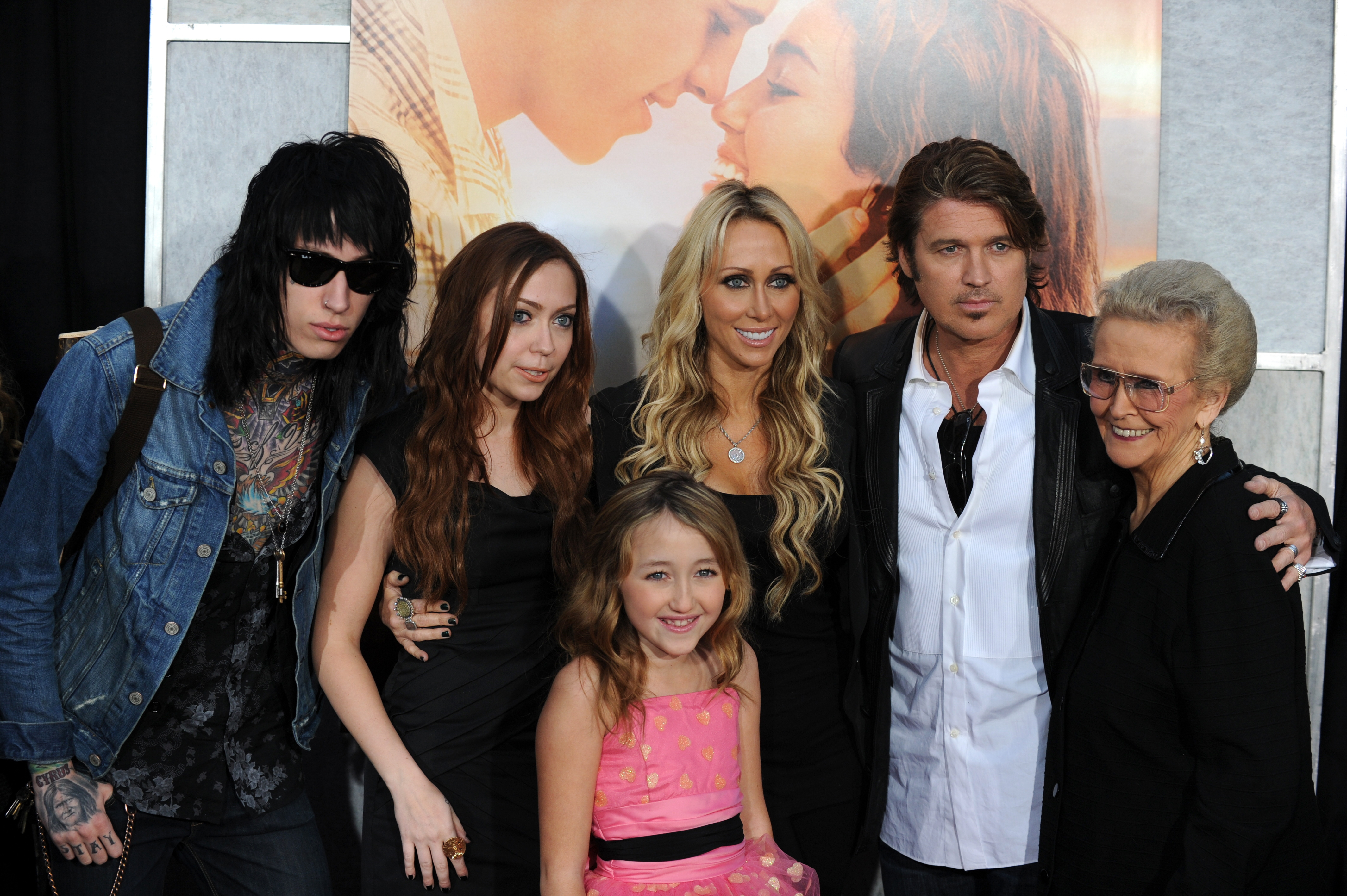 Actress and singer Miley Cyrus' family :