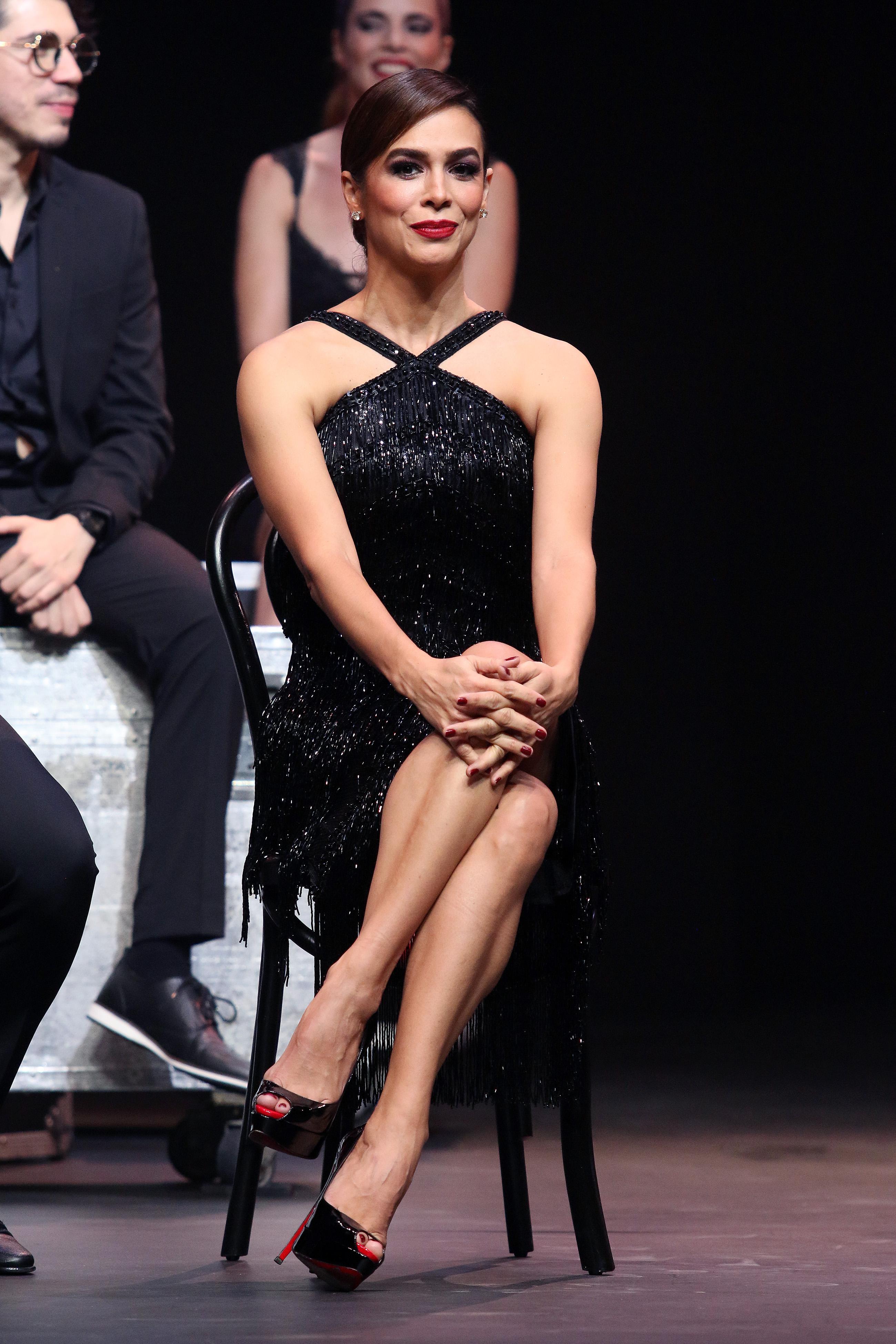 bibi Baytán, elenco Chicago, México