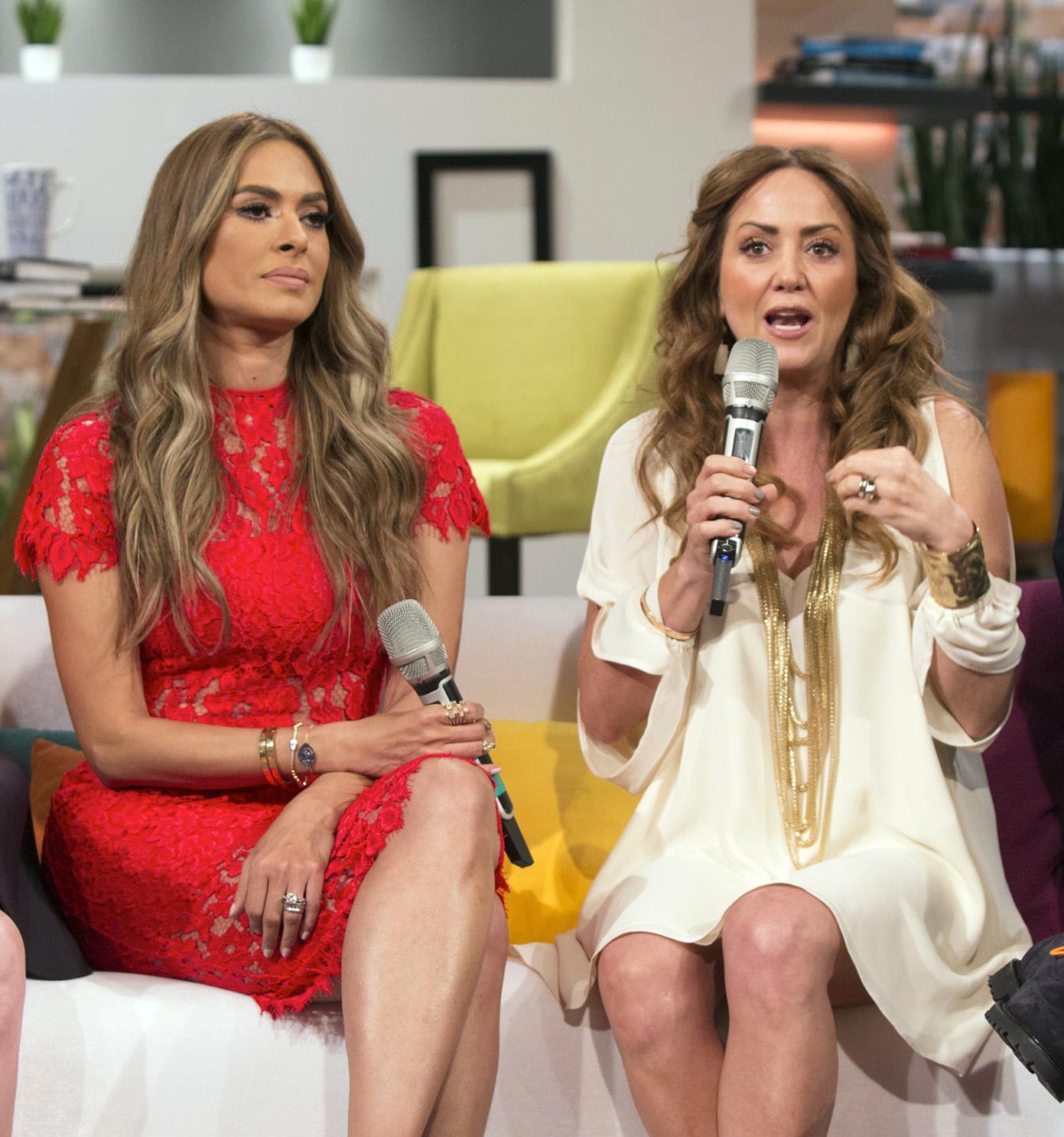 Galilea Montijo y Andrea Legarreta