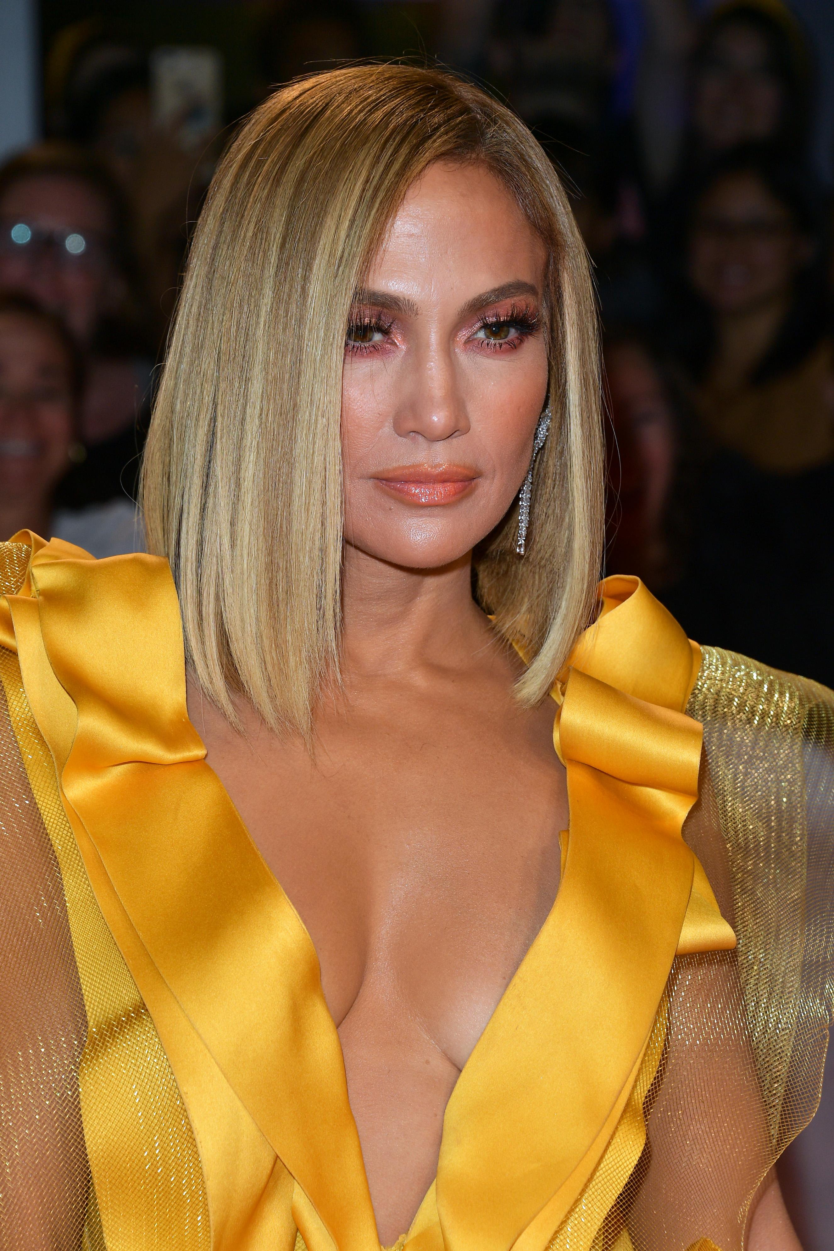 Jennifer Lopez, cabello, pelo, nuevo corte