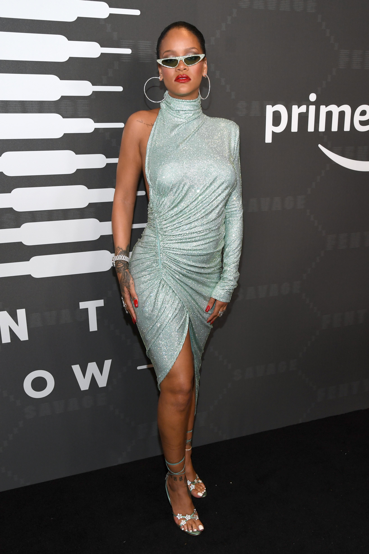 Rihanna, look, new york, desfile, fenty