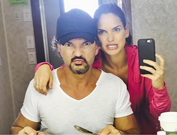 La hija de Ricardo Arjona en las redes