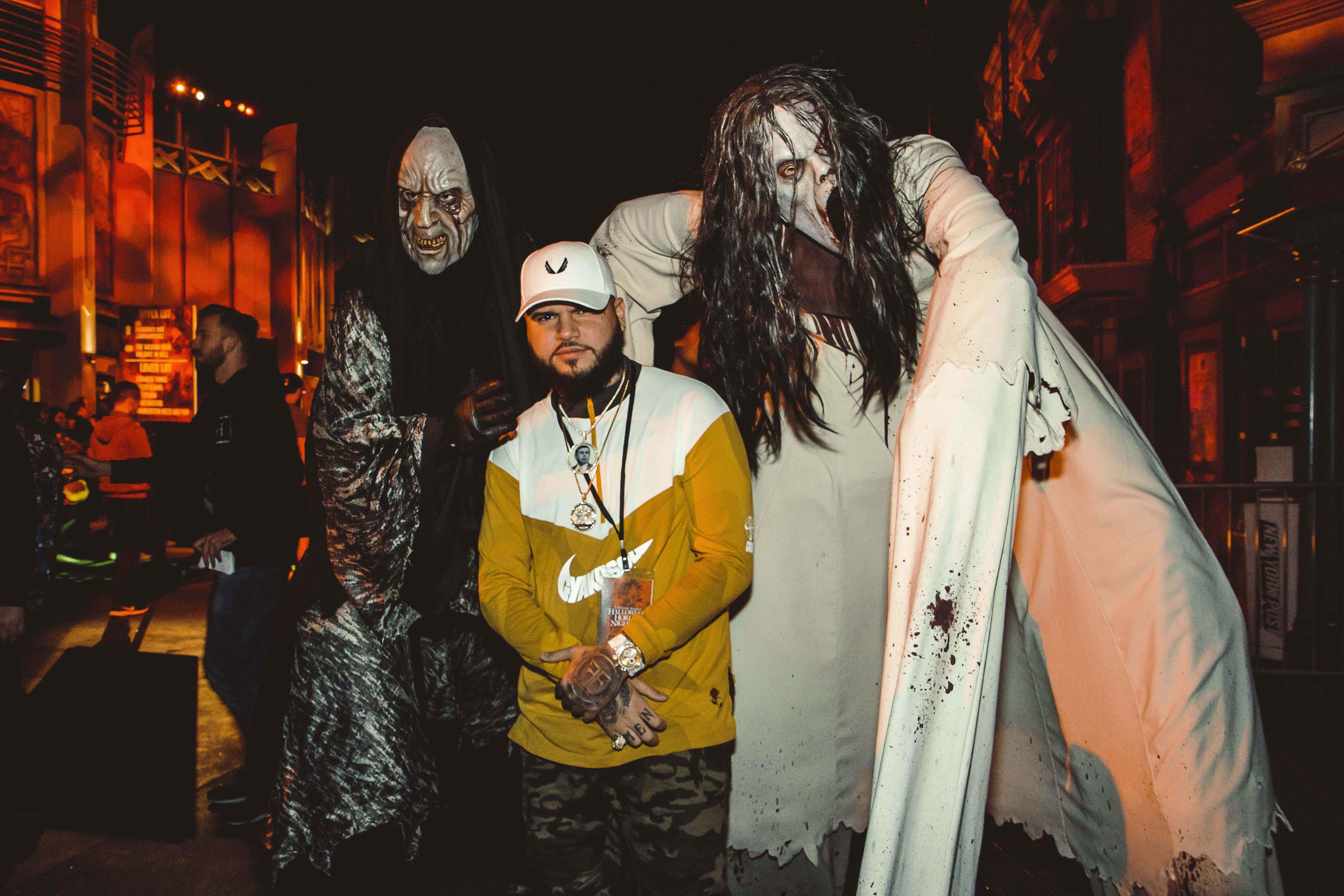 Farruko Halloween Horror Nights de Universal Studios Hollywood