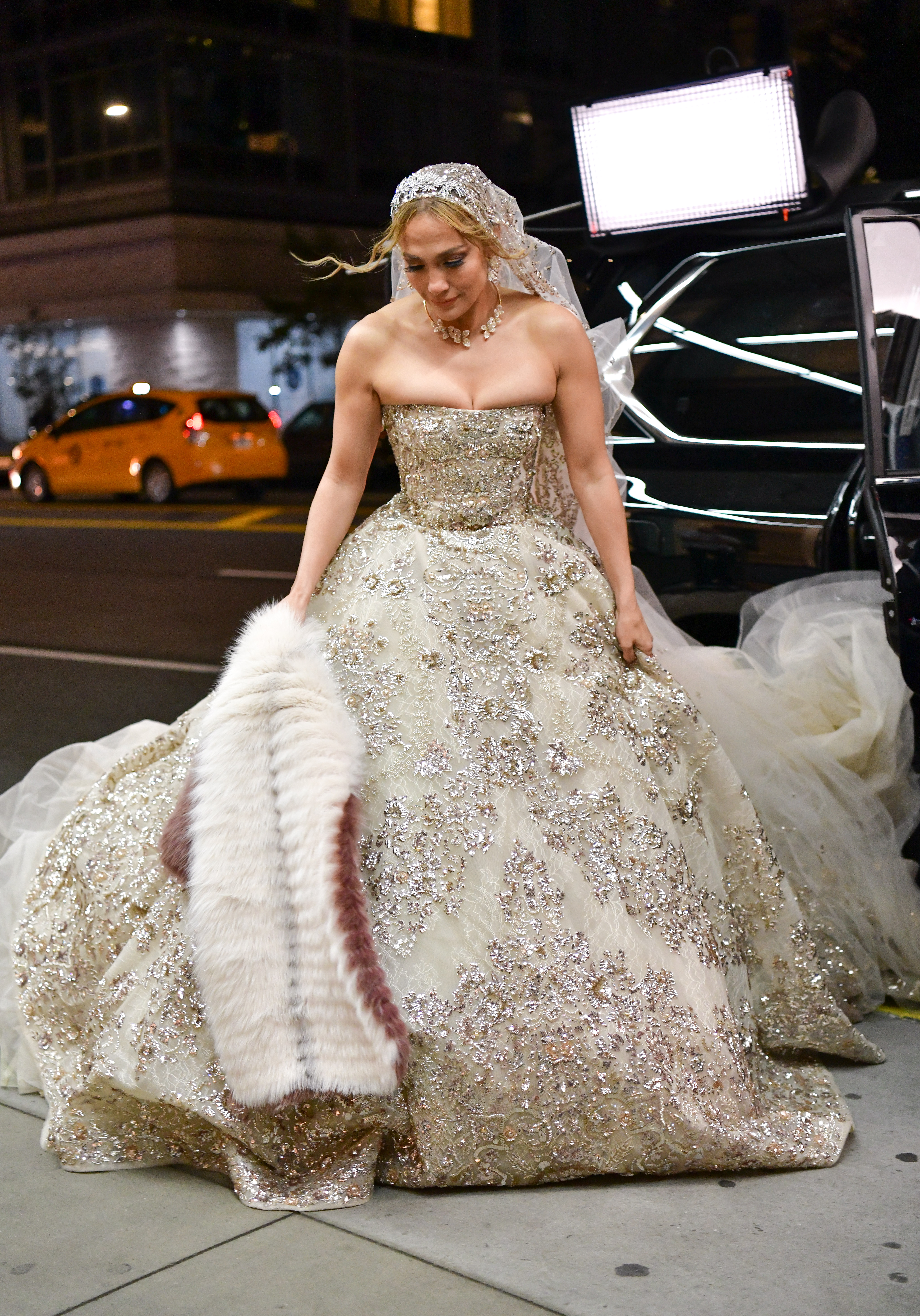 Jennifer Lopez Vestido De Novia En Nueva York People En