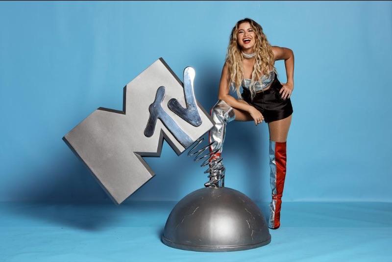 Sofía Reyes Premios MTV EMA en Sevilla, España