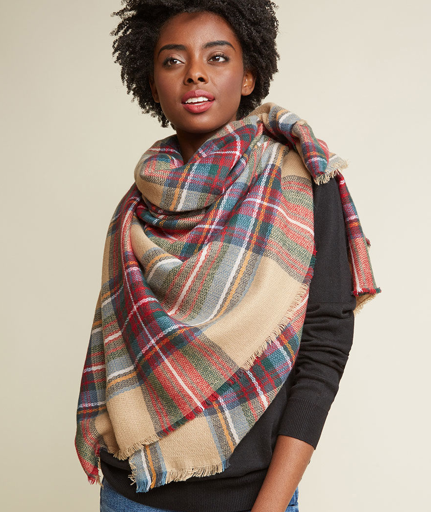11 Tips For How To Wear And Tie A Blanket Scarf Real Simple