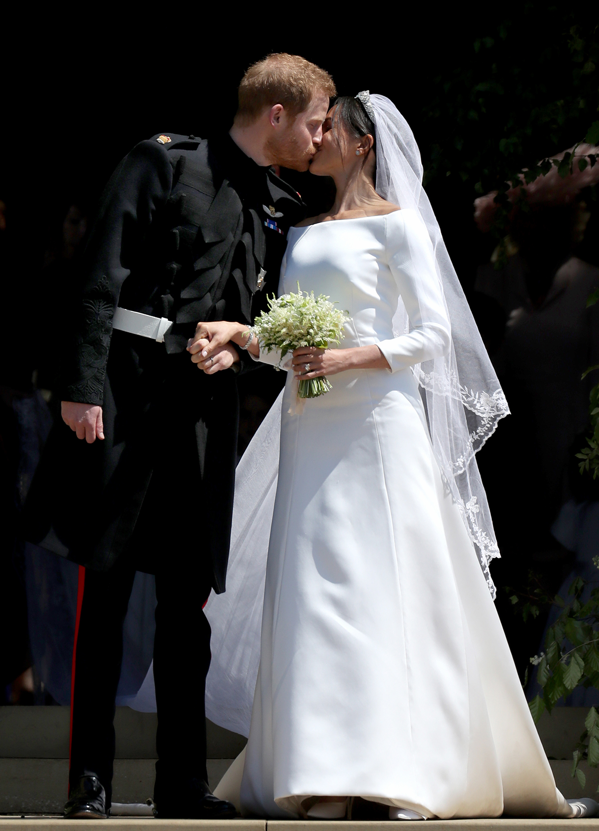 this affordable bridal line just recreated meghan markle s wedding dress for under 1 500 real simple https www realsimple com weddings dress attire floravere meghan markle wedding dress