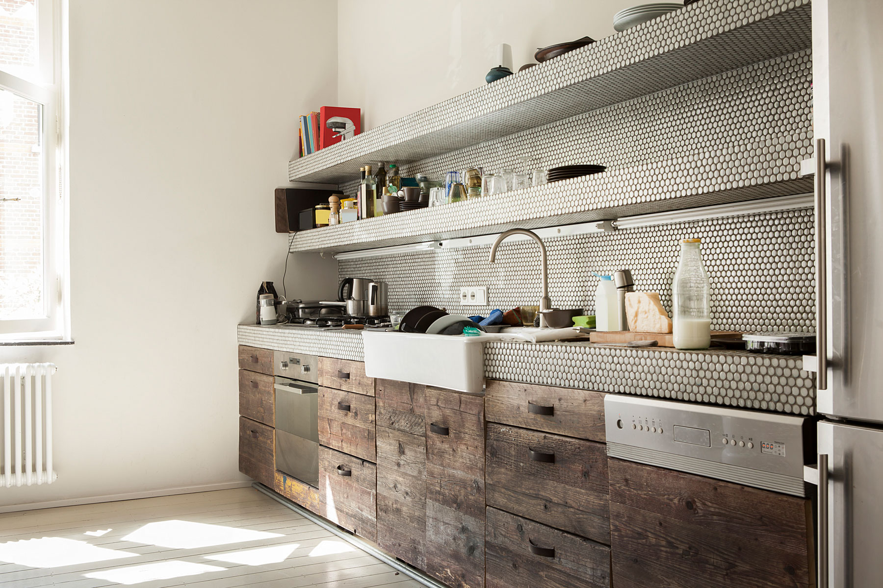 Unique Backsplash Ideas You Probably Haven Rsquo T Seen Before Real Simple
