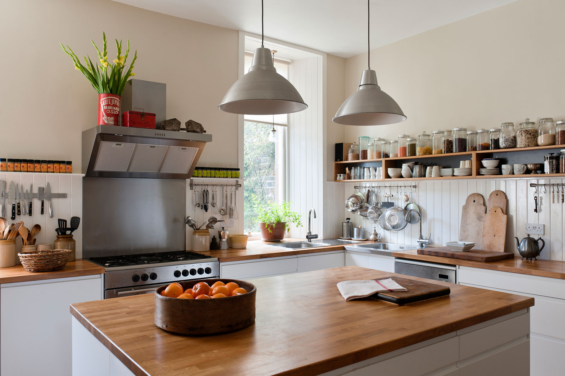 Butcher Block Countertop Or Wood Countertops What To Know Real Simple