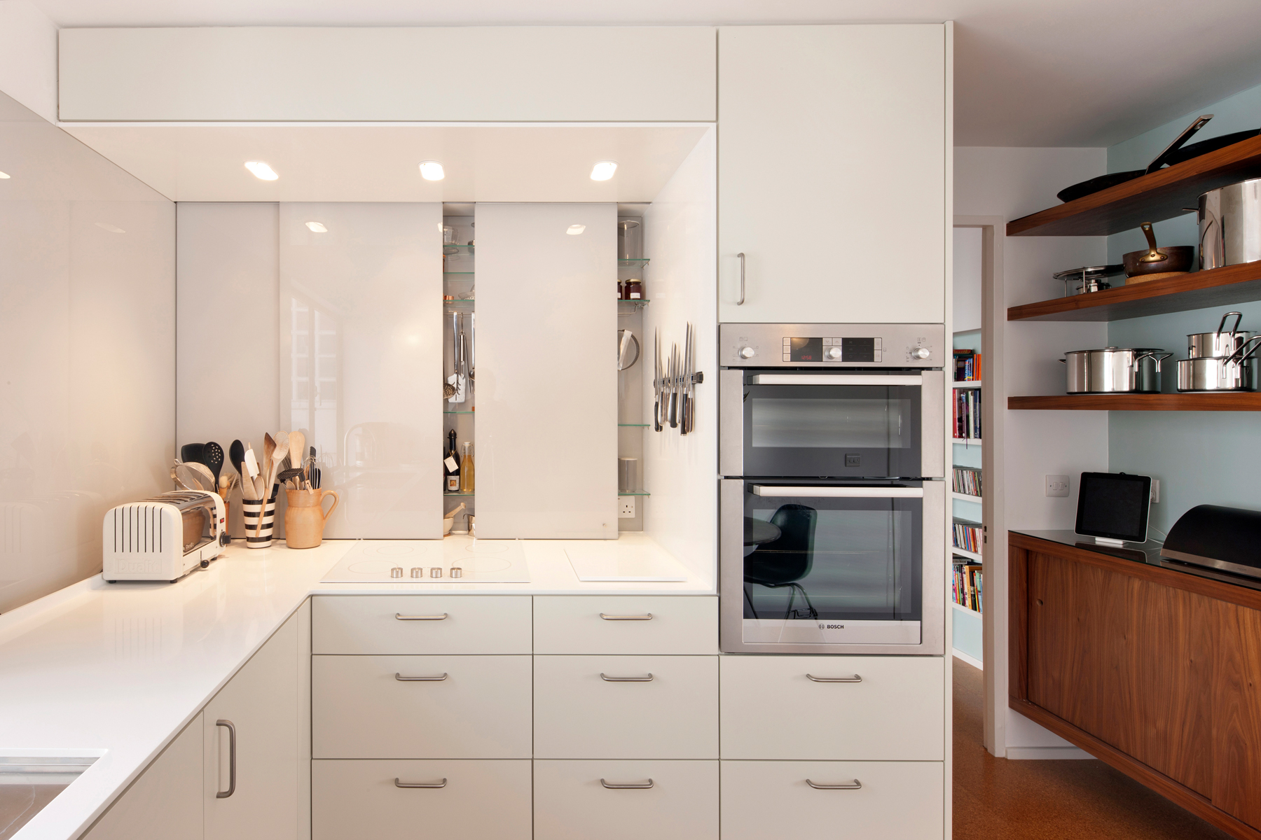 Appliance Garage Cabinets Are Back With A Sophisticated Twist Real Simple