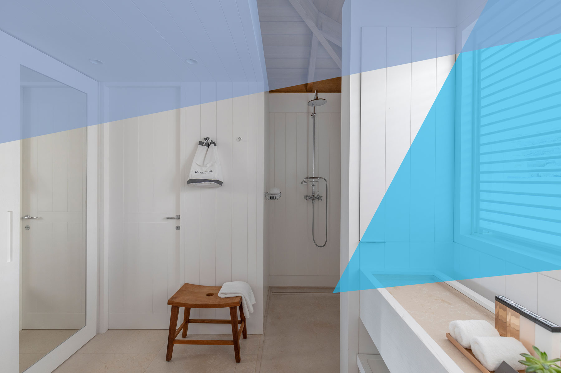 The Linear Shower Drain Is The Secret To A Luxury Bathroom Real Simple