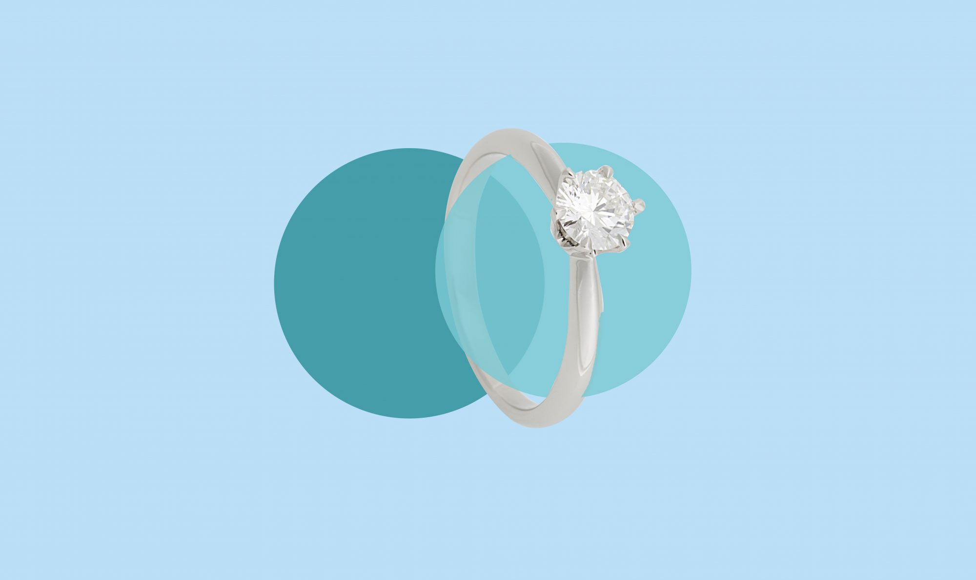 This Is The Ideal Diamond Engagement Ring Size Real Simple