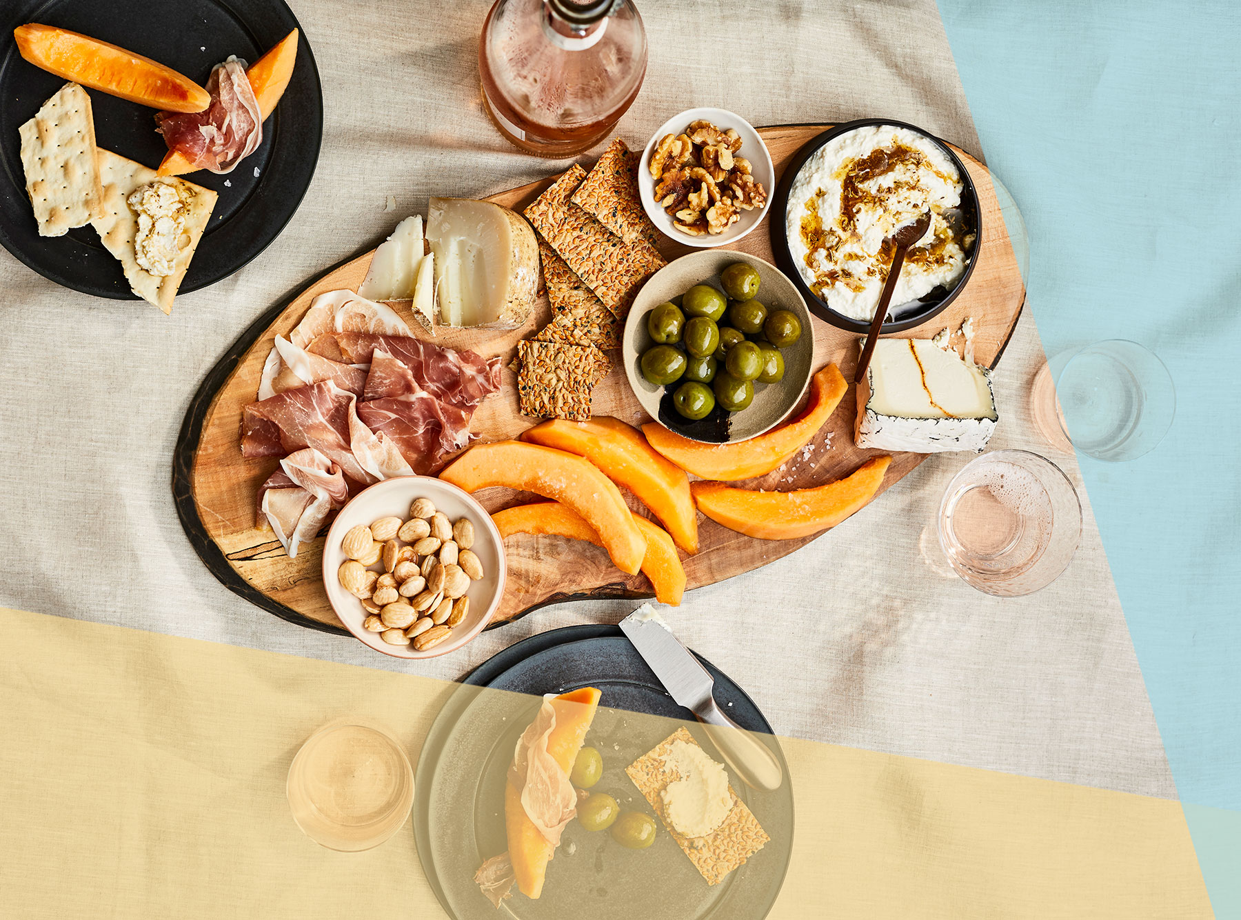 Summer Entertaining 4 Pretty Grazing Platters Real Simple