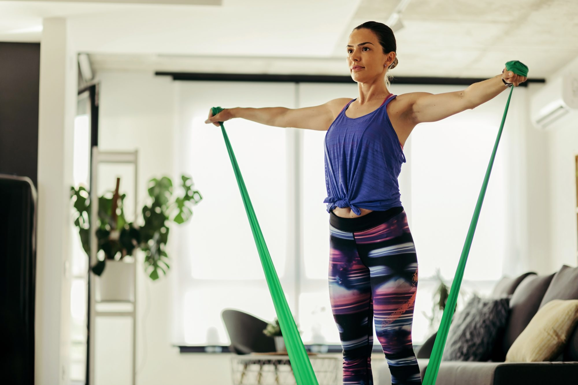 6 Easy Resistance Band Exercises For A Whole Body Workout Real