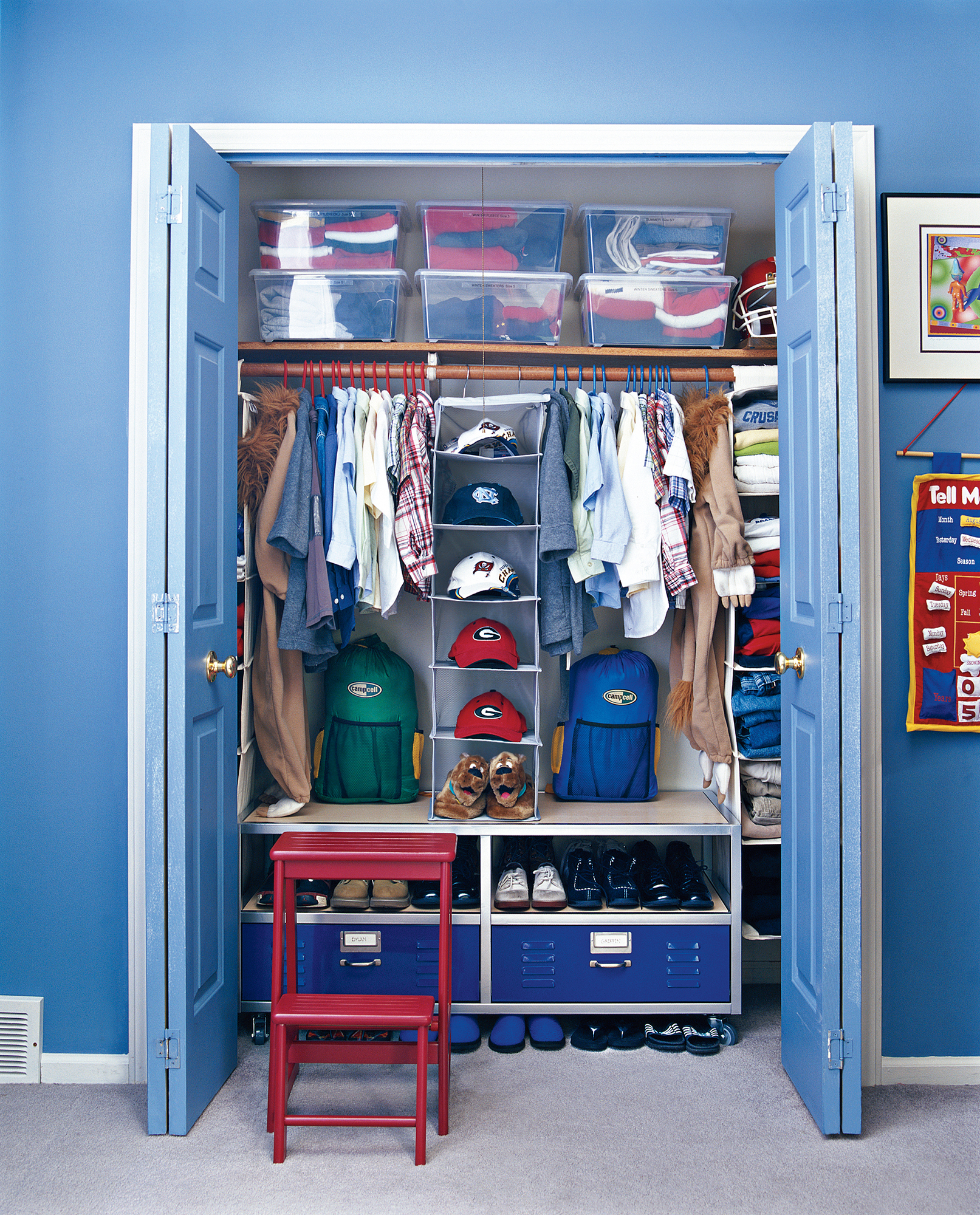 7 Smart Ways To Organize Your Kid Rsquo S Closet Real Simple