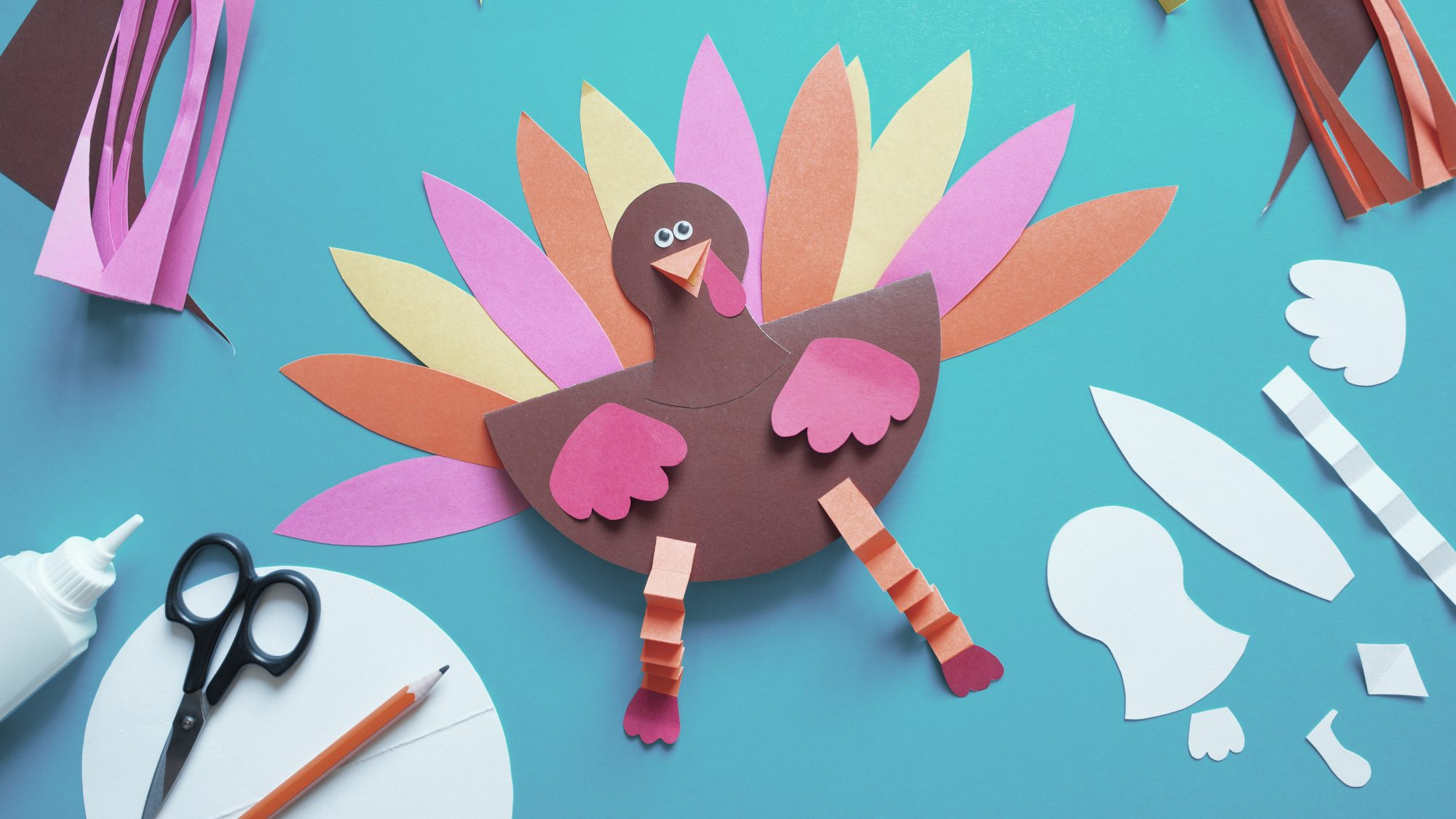 20 Thanksgiving Crafts Diy Ideas And More For Kids And Adults Real Simple