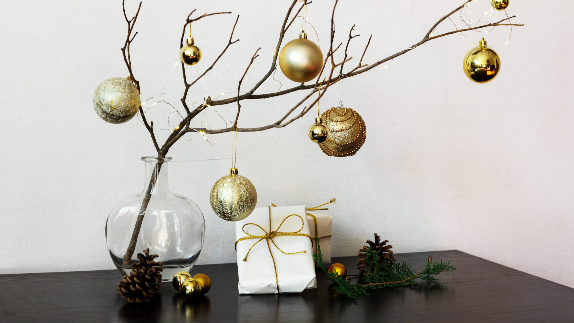 Alternative Christmas Tree Ideas Mdash Simple Tree Ideas Real Simple