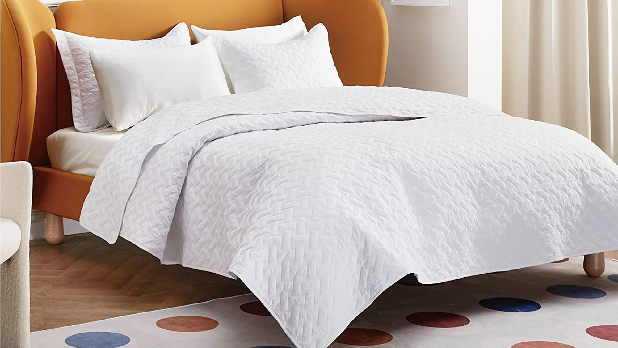 This Bedsure Quilted Bed Set Is Ideal for Summer and Fall Weather | Real  Simple