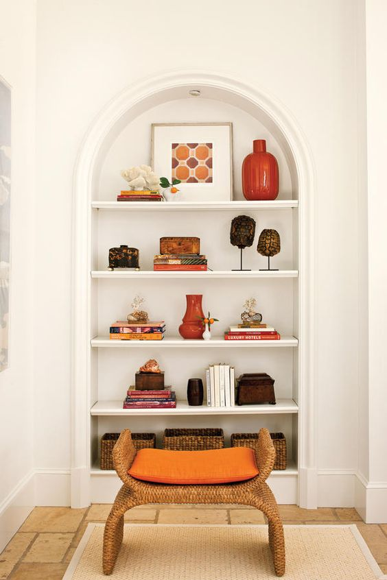 Steal This Designer S Tricks For Styling Open Shelving Southern Living