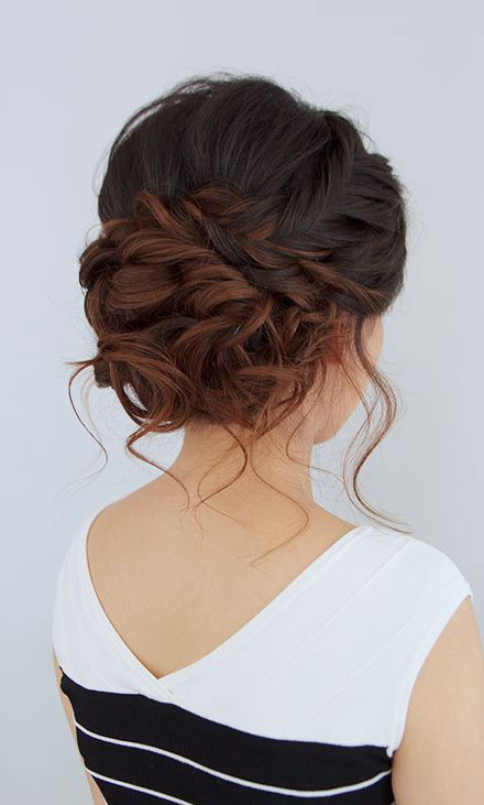 Gorgeous Updos For Bridesmaids