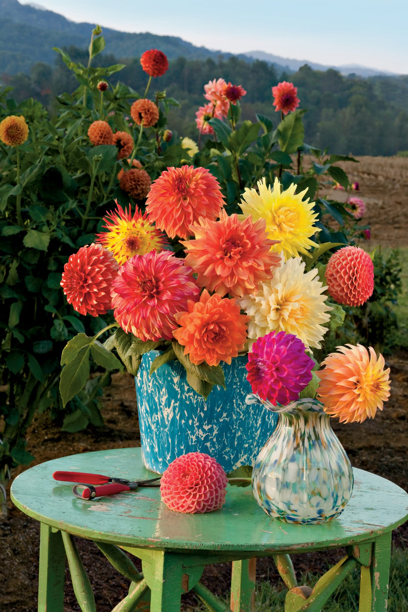 Dazzling Dahlia Flower Arrangements Southern Living
