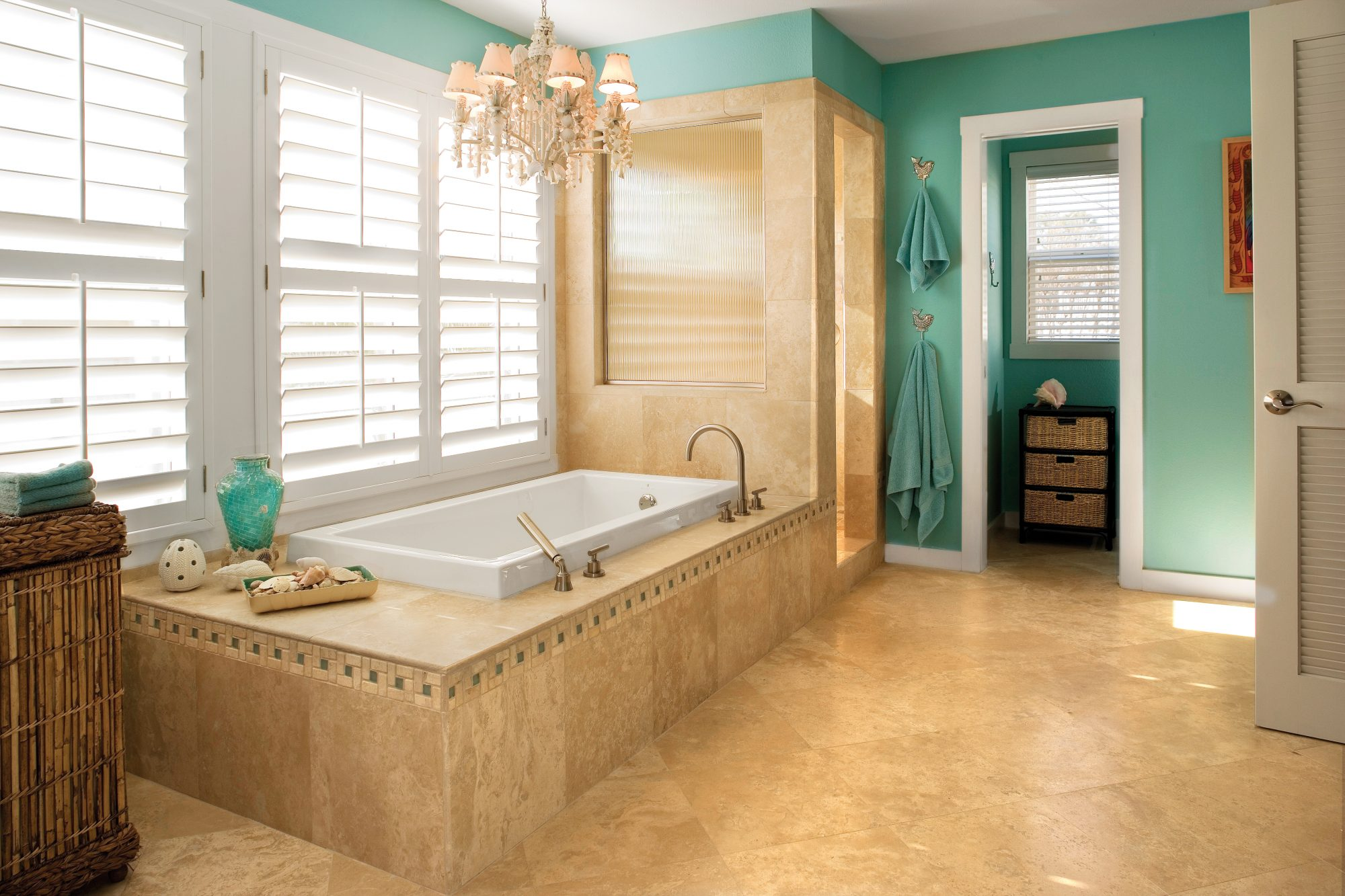 Pretty Bathroom Color Combo Southern Living