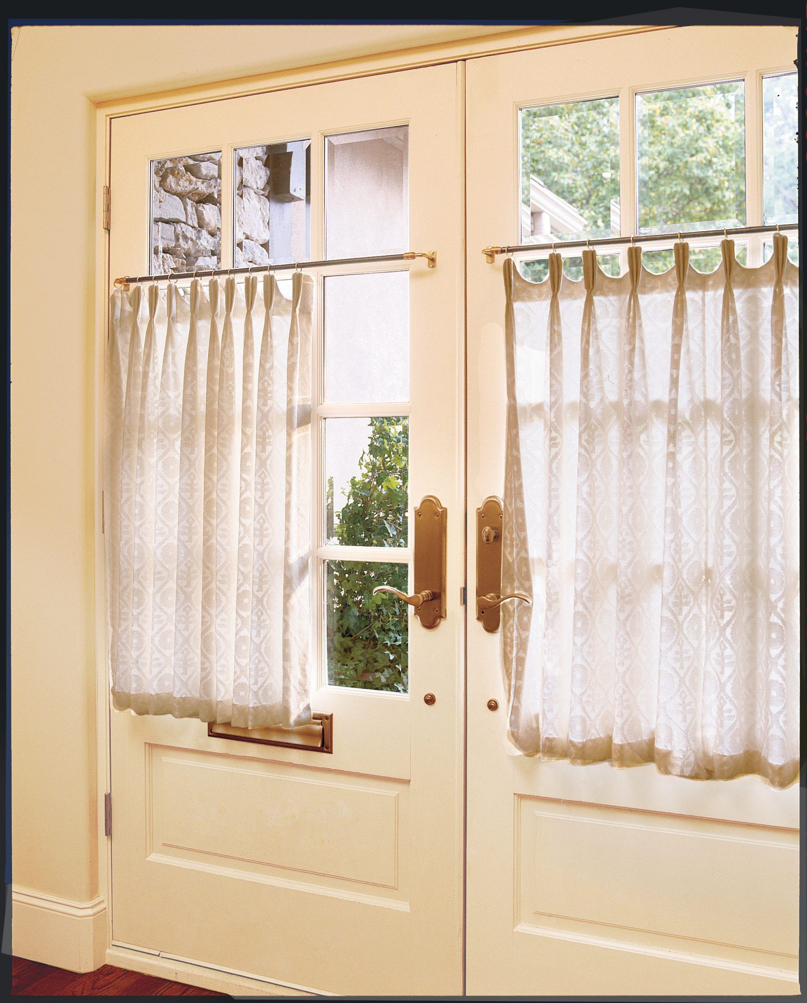 Simply Dressed Cafe Curtains Southern Living
