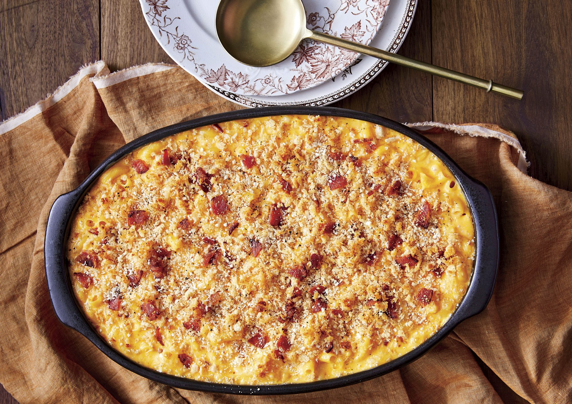 Baked Mac And Cheese With Bacon Southern Living