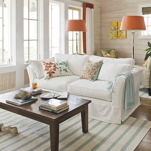 Beach Home Decorating Southern Living, Beach Cottage Decorating Ideas Living Rooms