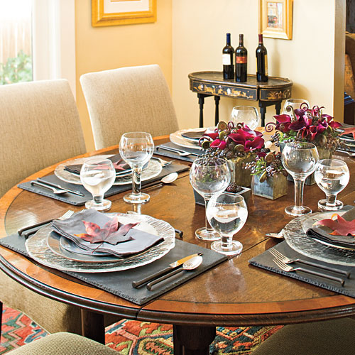 How To Set A Stunning Table Southern, Dining Room Table Setting Ideas