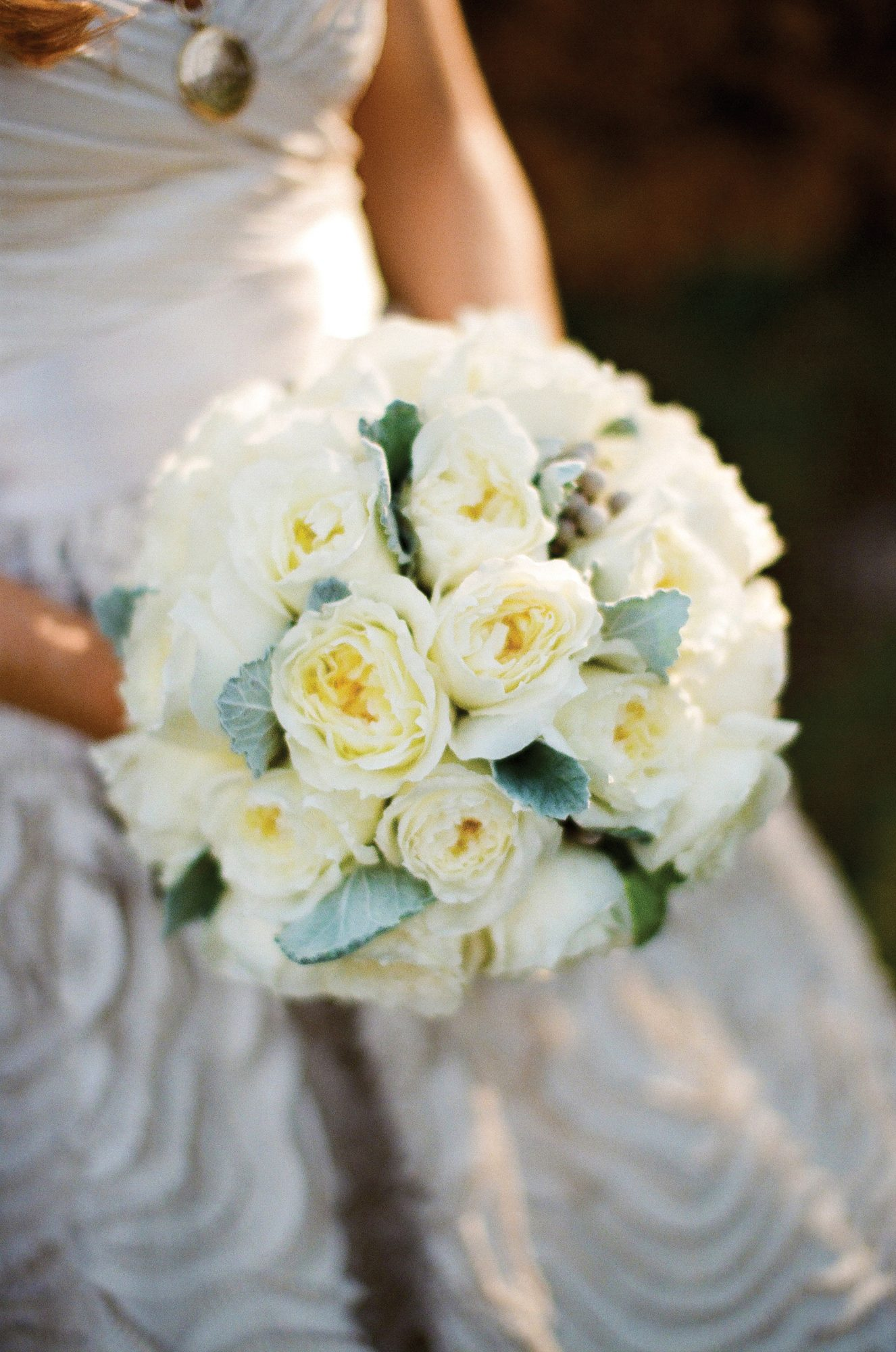 White Wedding Bouquets Southern Living