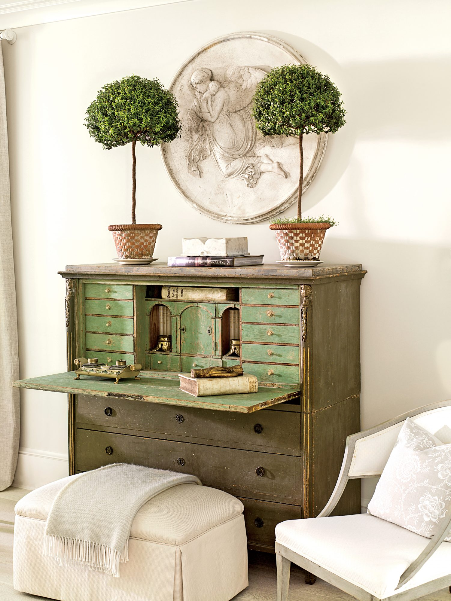 Healthy And Happy Myrtle Topiaries Southern Living