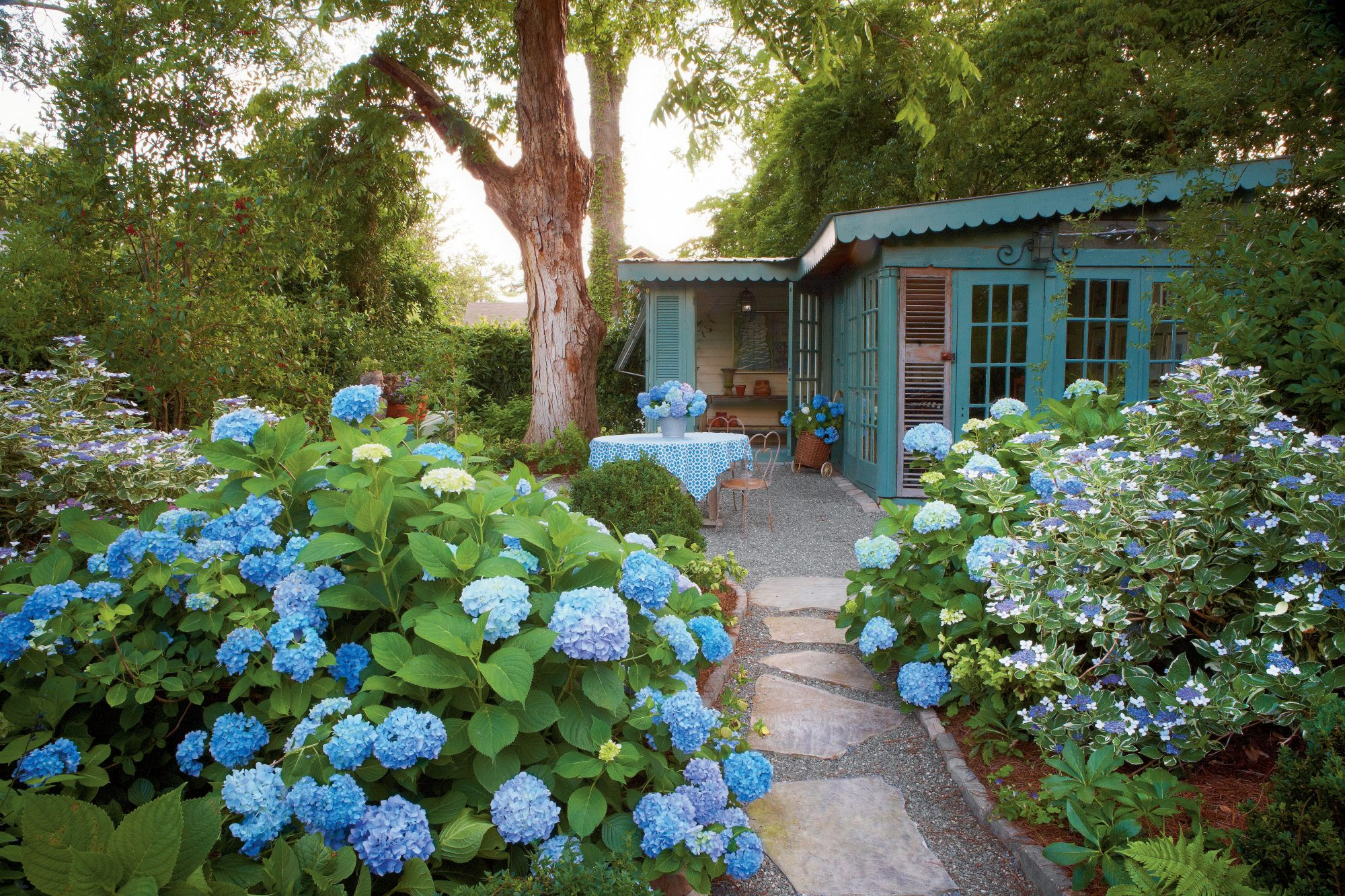 10 Dreamy Hydrangea Gardens That Are Giving Us Major Inspiration