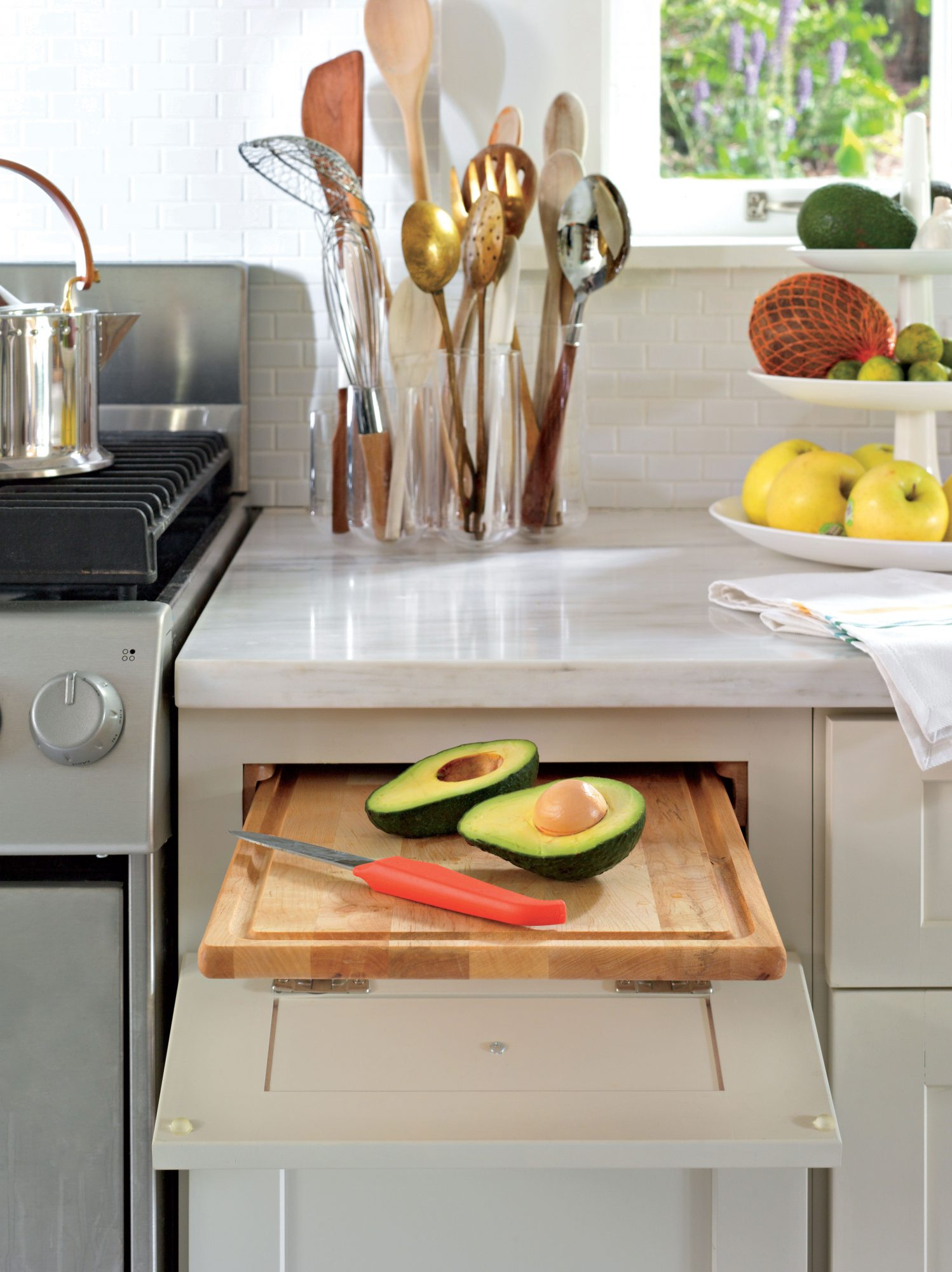 The Real Reason Old Kitchens Have Pull Out Cutting Boards Will Surprise You Southern Living