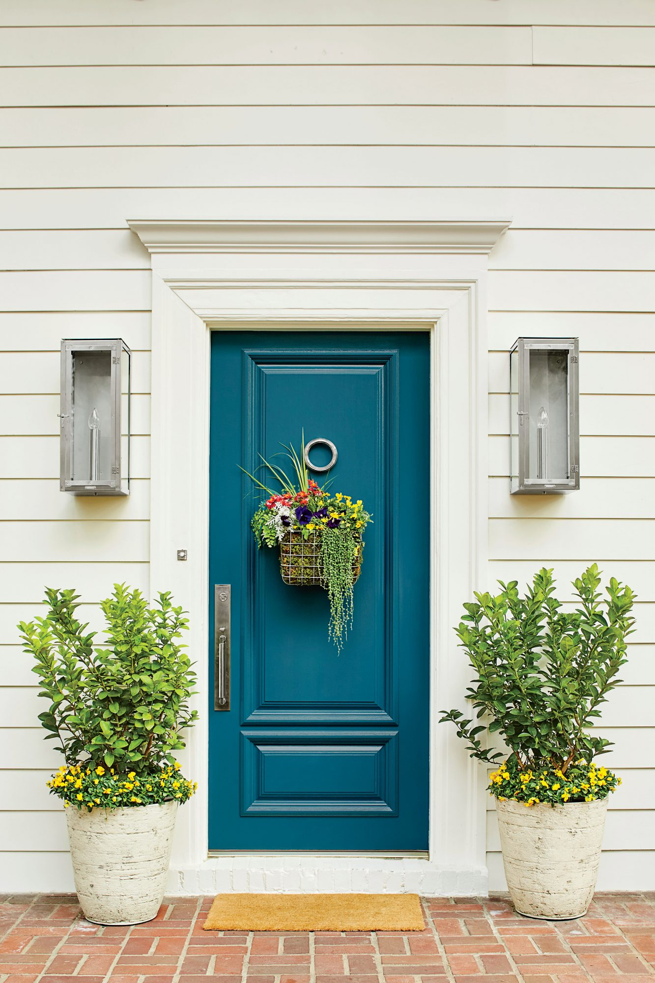 How To Make A Basket Wreath Southern Living