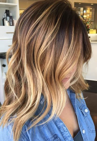 29 Brown Hair with Blonde Highlights Looks and Ideas