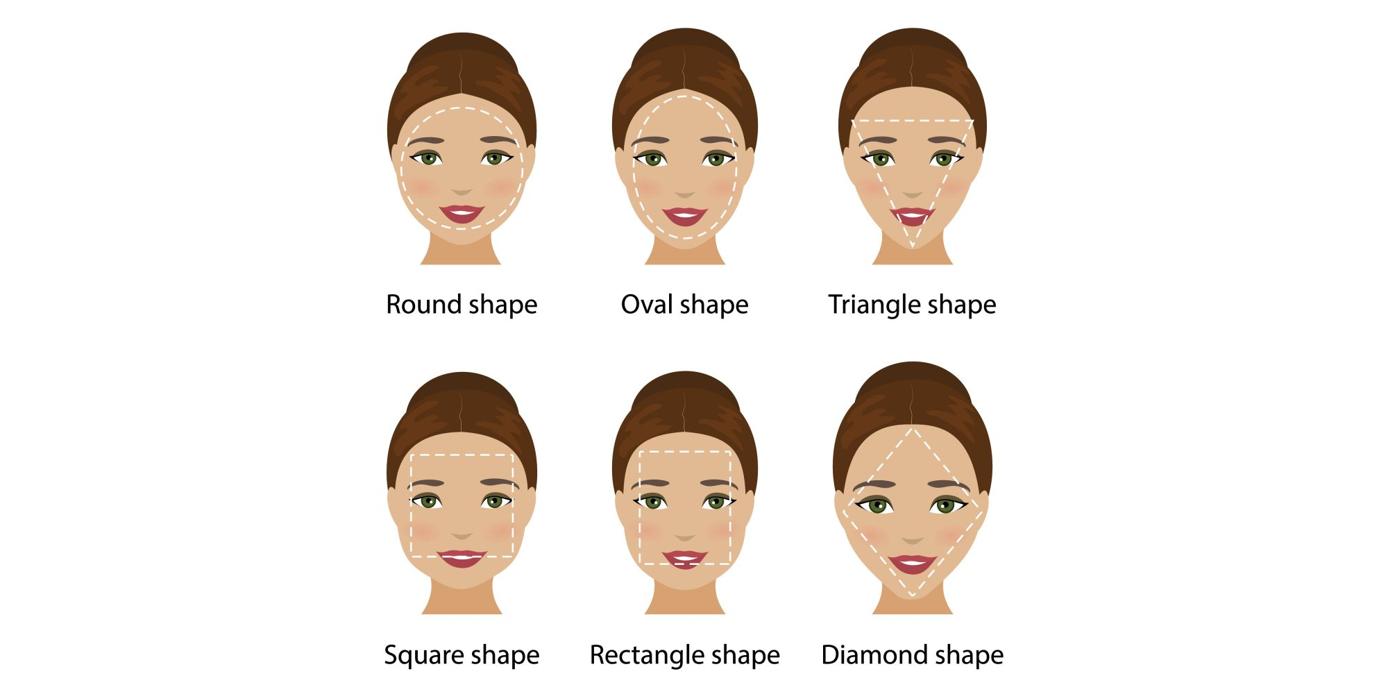 How To Determine Face Shape Once And For All   Southern LivingSouthern Living