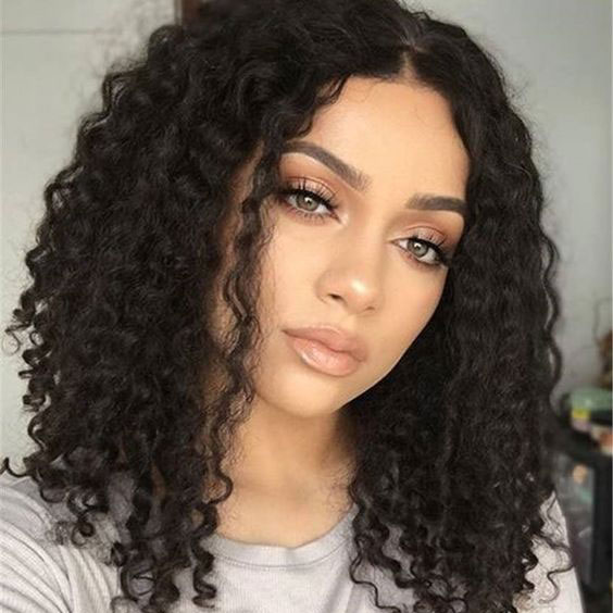 Medium Hairstyles For Curly Hair Girls 91