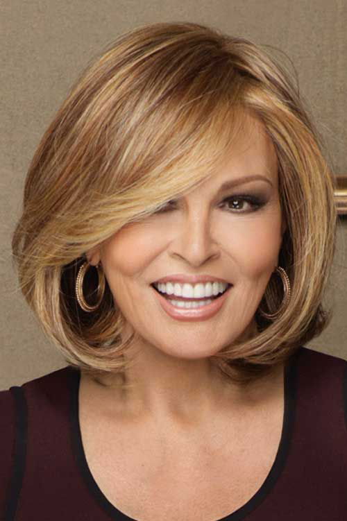 Short Layered Bob Haircuts For Older Women 34