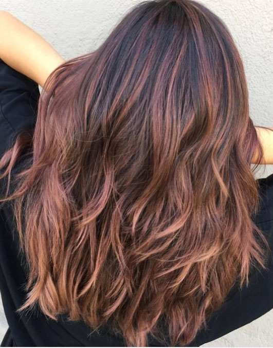 Rose Brown Might Be The Brilliant Brunette Friendly Shade