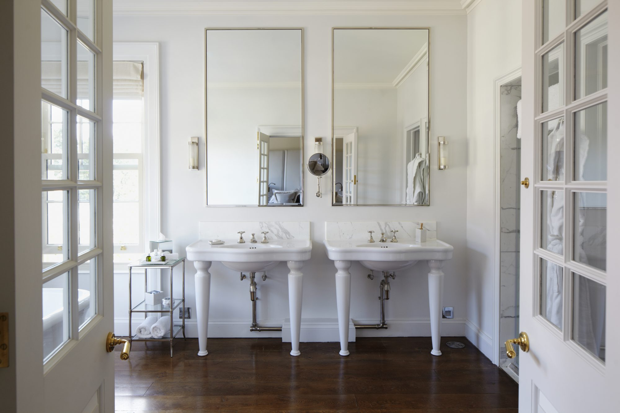 Never Make This Mistake When Painting Your Bathroom Southern Living,Subway Tile Backsplash Around Kitchen Window