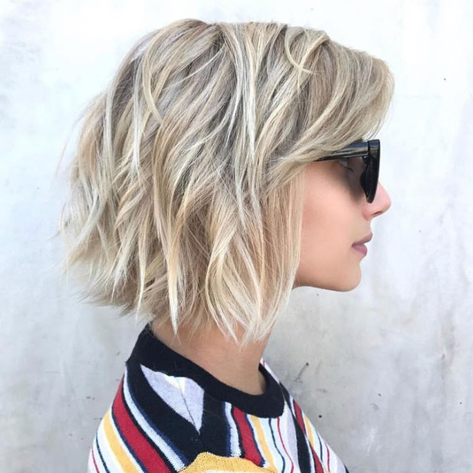 Layered Shoulder Length Hairstyles For Long Faces 85