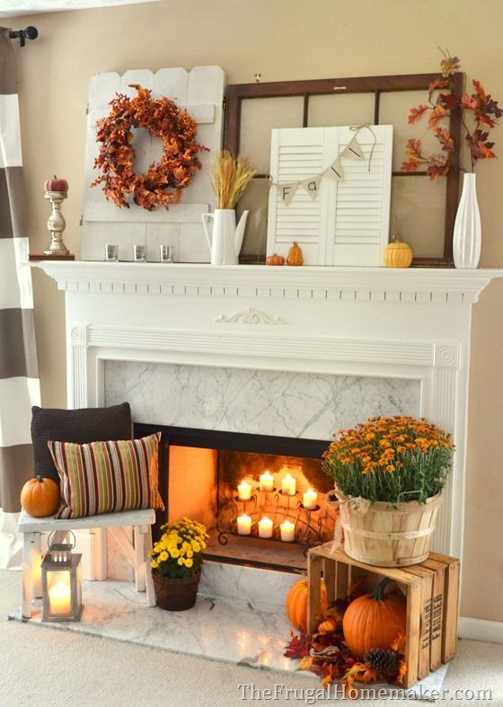 7 Cozy Ideas for Fireplace Mantels  Southern Living