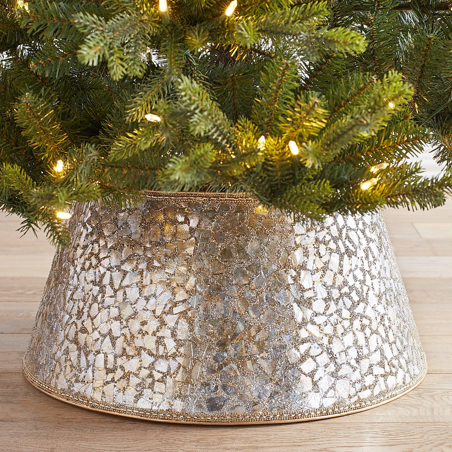 Ditch The Tree Skirt And Get A Tree Collar This Year Southern Living