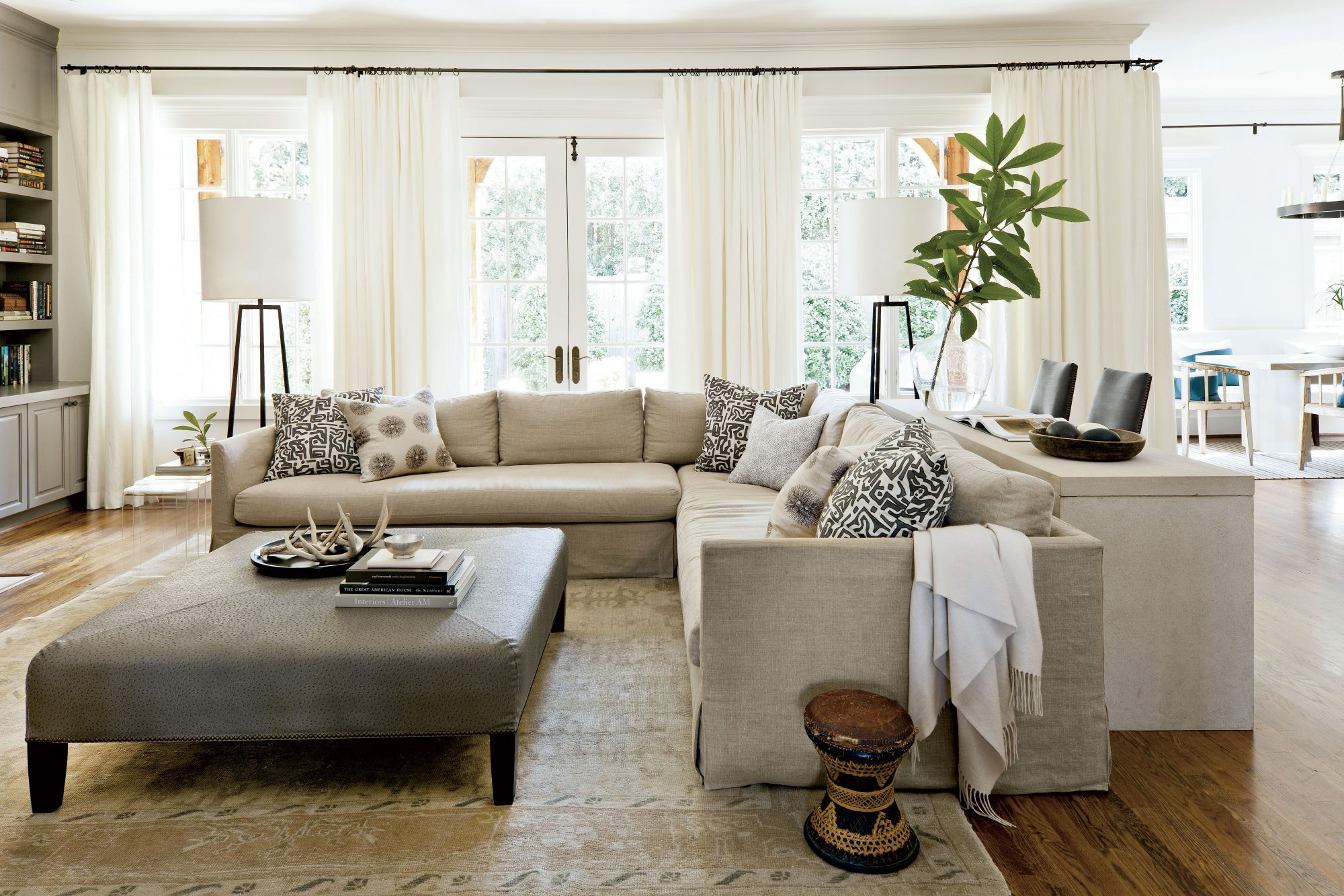 We Love This Gray Paint Color for Living Rooms | Southern Living