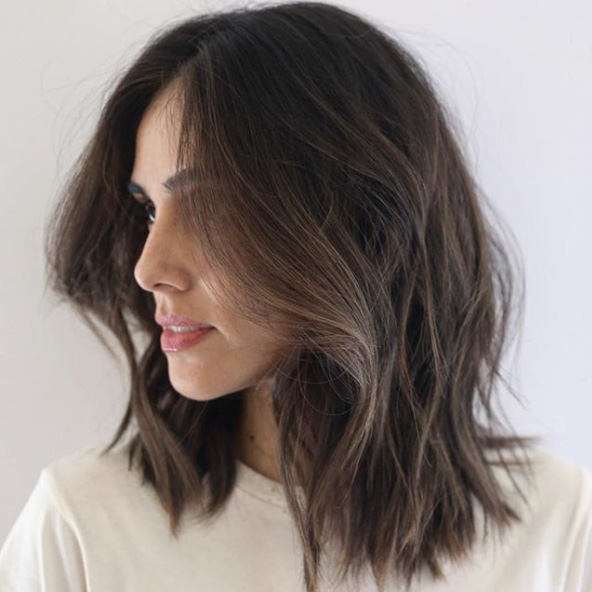 Shoulder Length Thick Hair Short Layered Haircuts 55