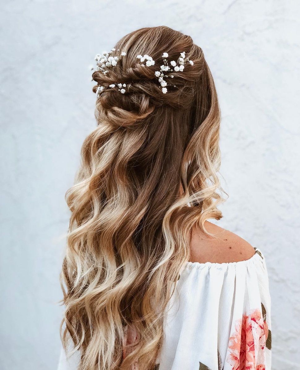 Half Up Hairstyles We Re Loving Right Now